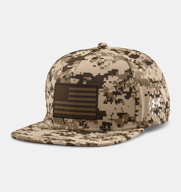 Men s UA Freedom Camo Flag Cap  4db31b6255f