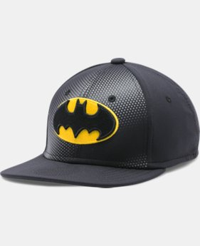 Boys' UA Batman Stretch Fit Cap