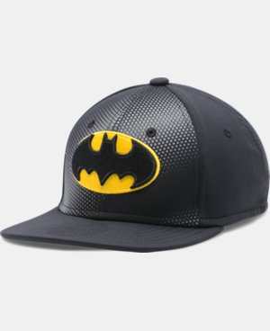 Boys' UA Batman Stretch Fit Cap LIMITED TIME: FREE U.S. SHIPPING 1 Color $20.99
