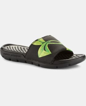 Boys' UA Strike Chrome Sandals