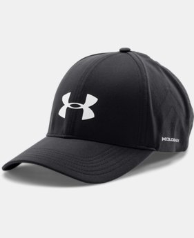 Men's UA coldblack® Driver Cap LIMITED TIME: FREE U.S. SHIPPING 1 Color $27.99