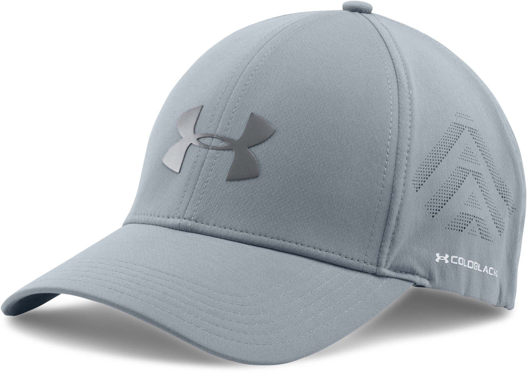 Men's UA coldblack® Driver Cap, Steel, undefined