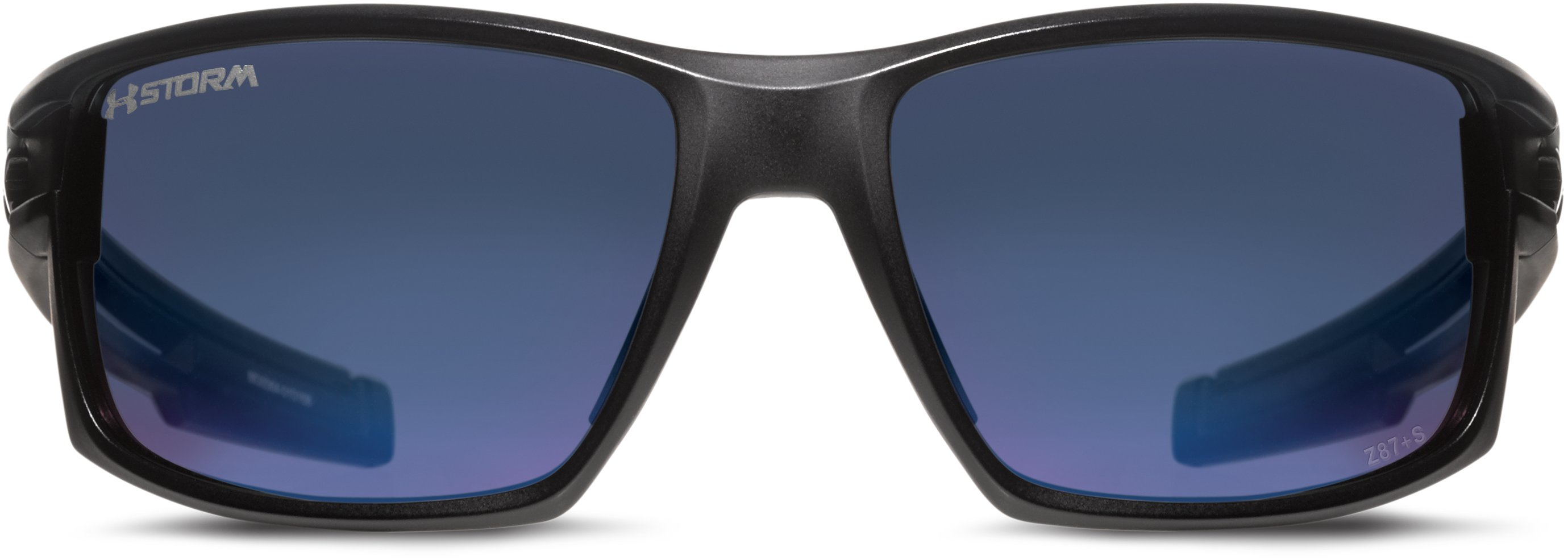 UA Captain Storm Polarized Sunglasses, Satin Black, undefined