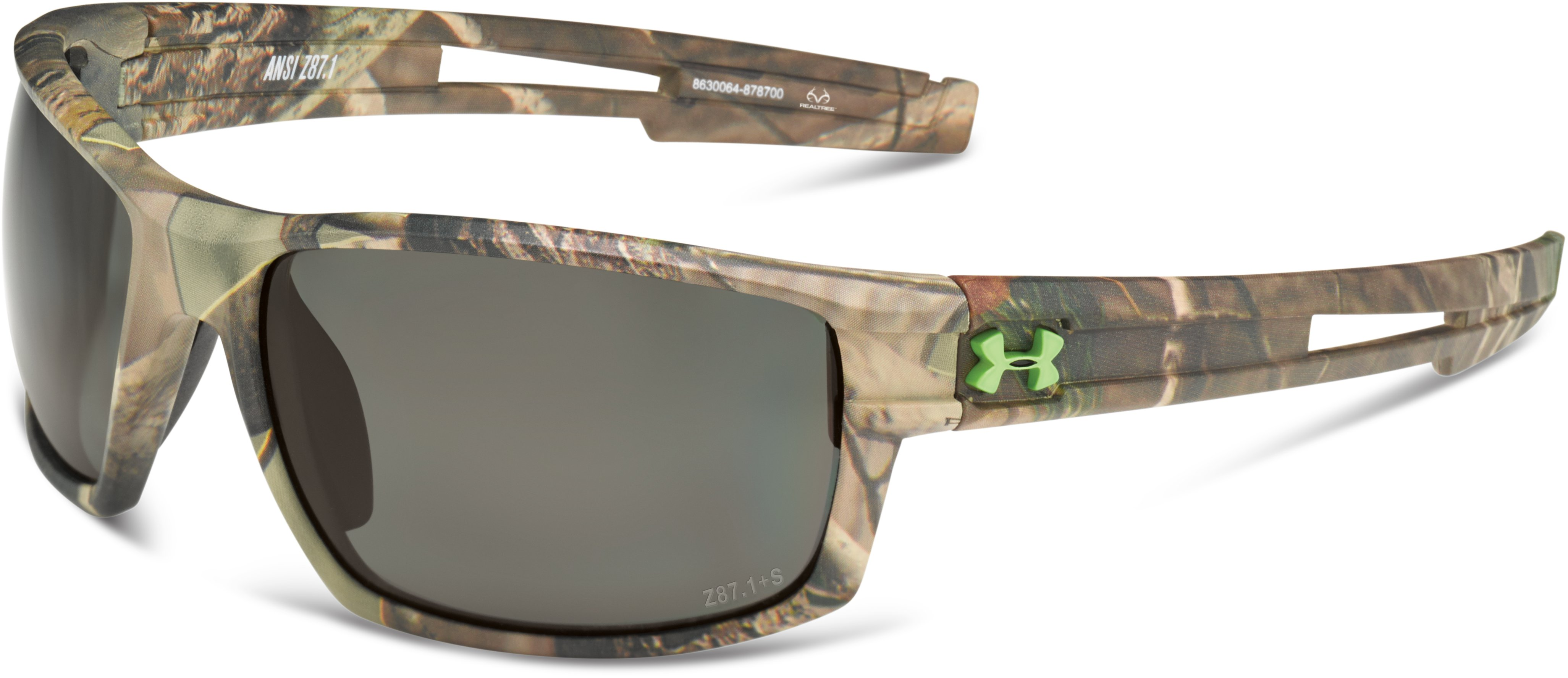 UA Captain Camo Sunglasses, Realtree AP