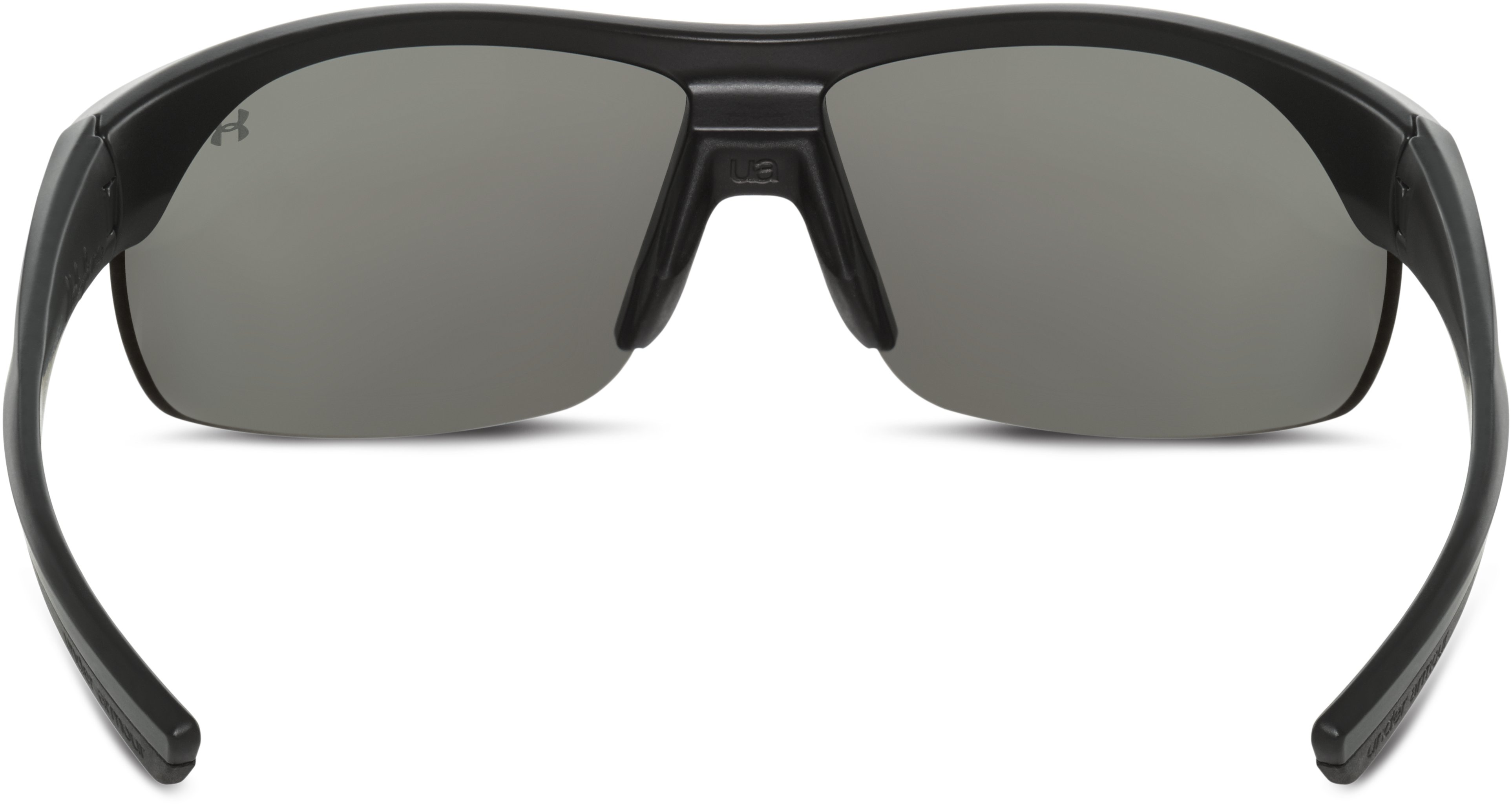 Women's UA Marbella Shield Sunglasses, Satin Black, undefined
