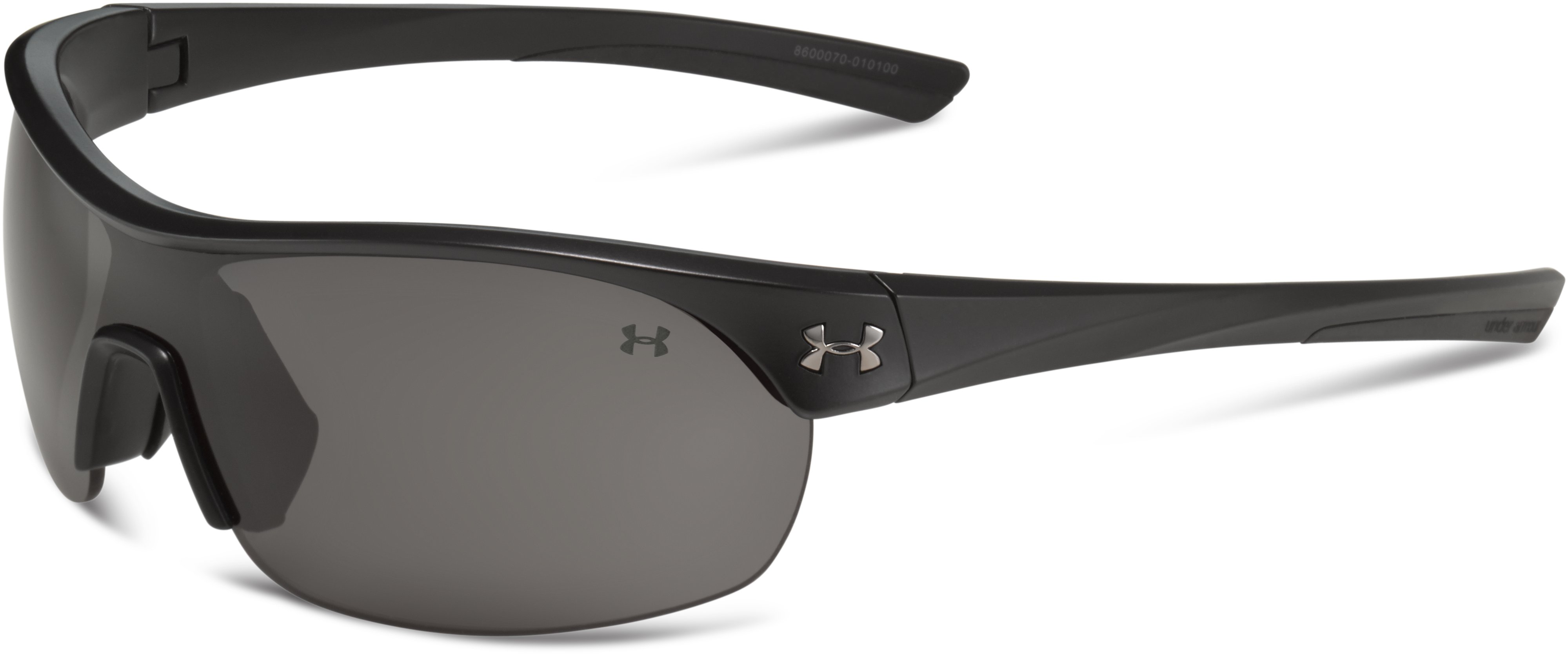 Women's UA Marbella Shield Sunglasses, Satin Black