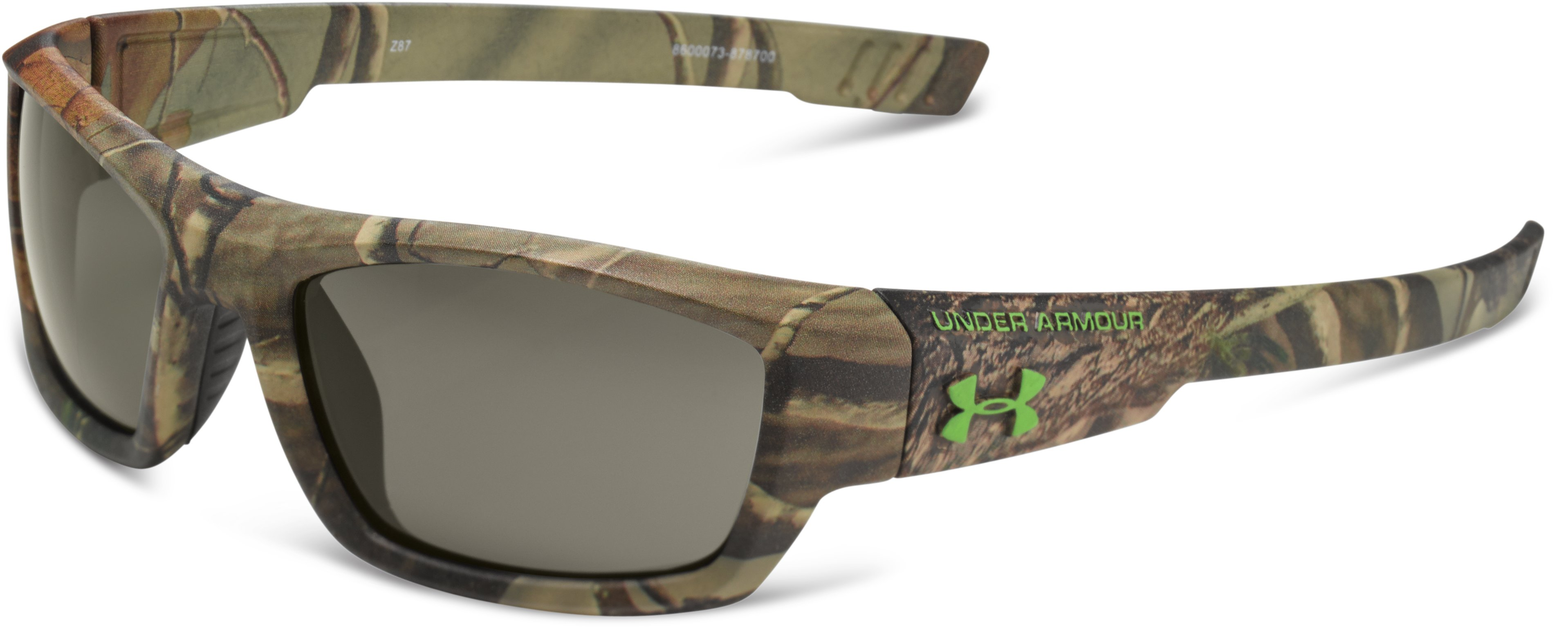 Kids' UA Ace Camo Sunglasses, Realtree AP, zoomed image