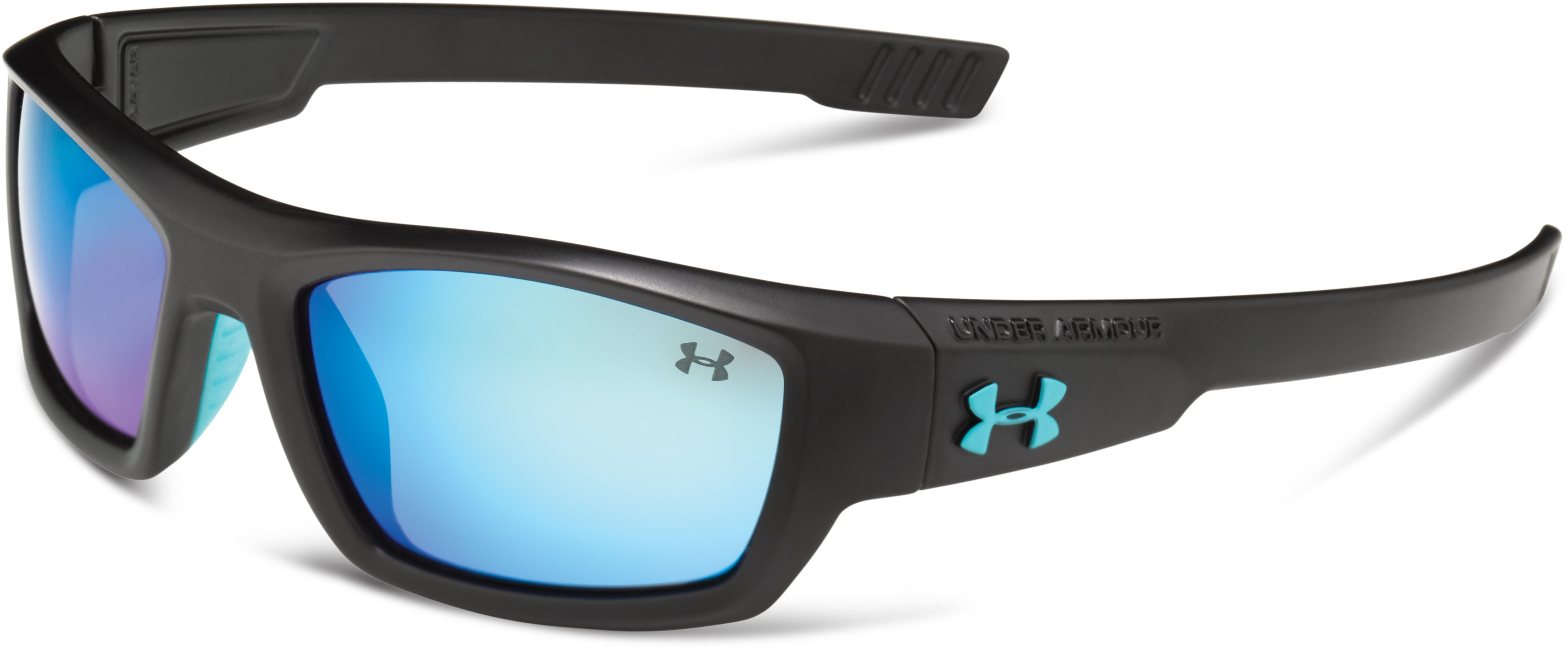 Kids' UA Ace Sunglasses, Satin Black,