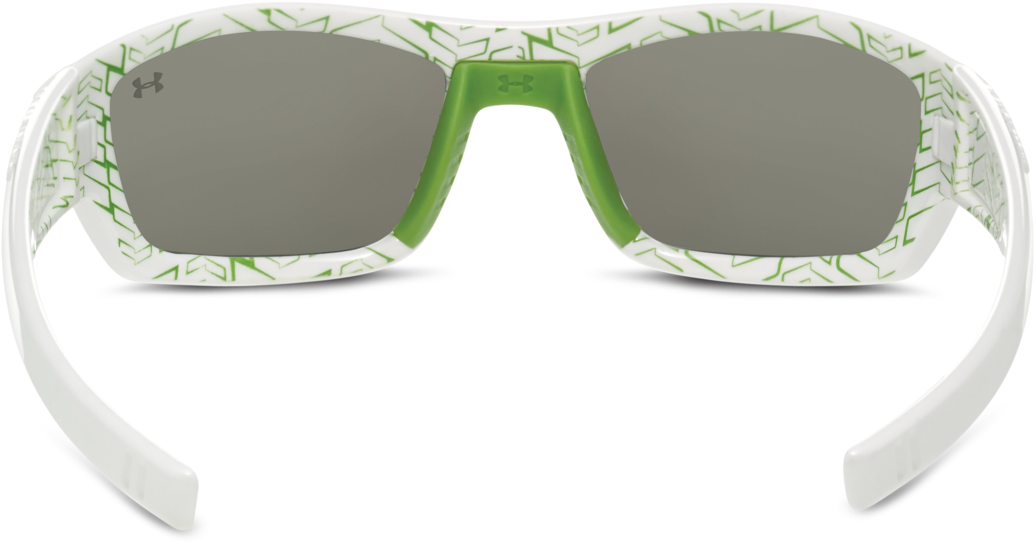Kids' UA Ace Sunglasses, Shiny White, undefined