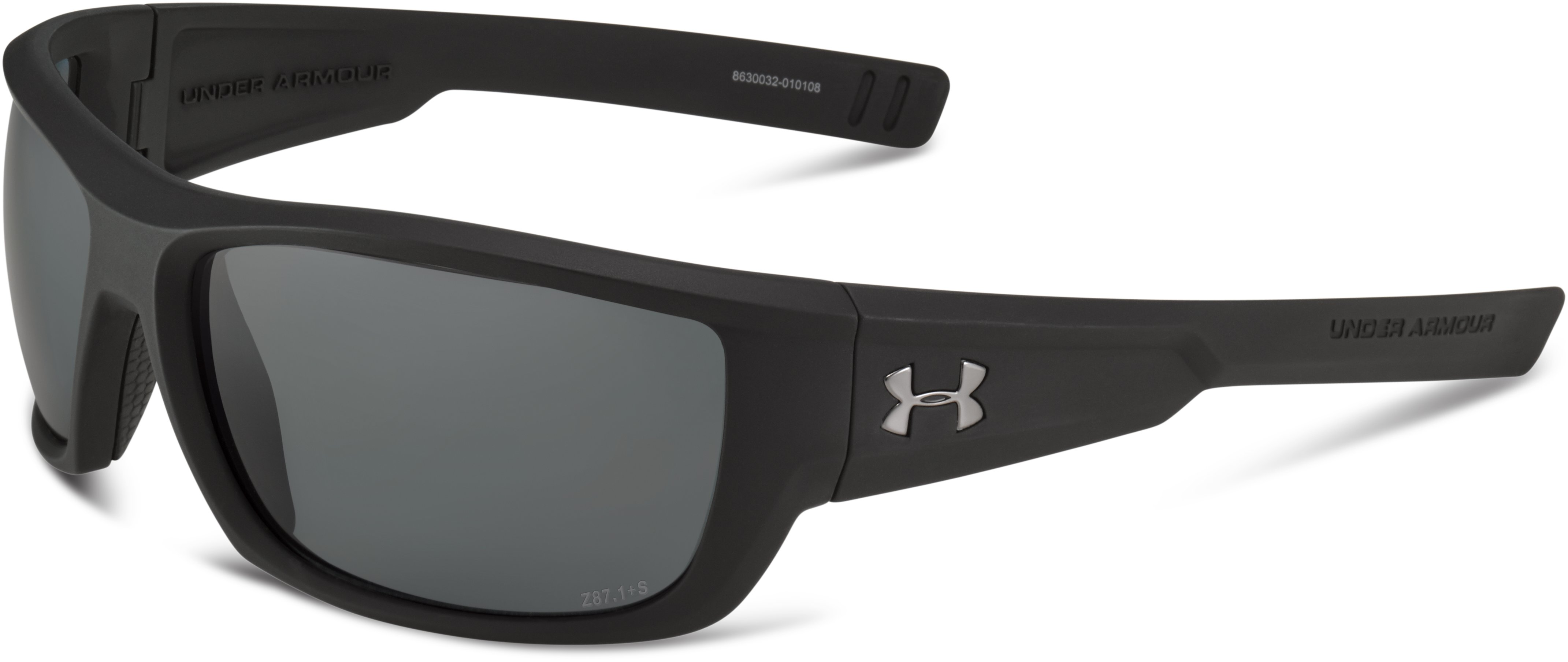 UA Rumble Storm Polarized Sunglasses, Satin Black, undefined
