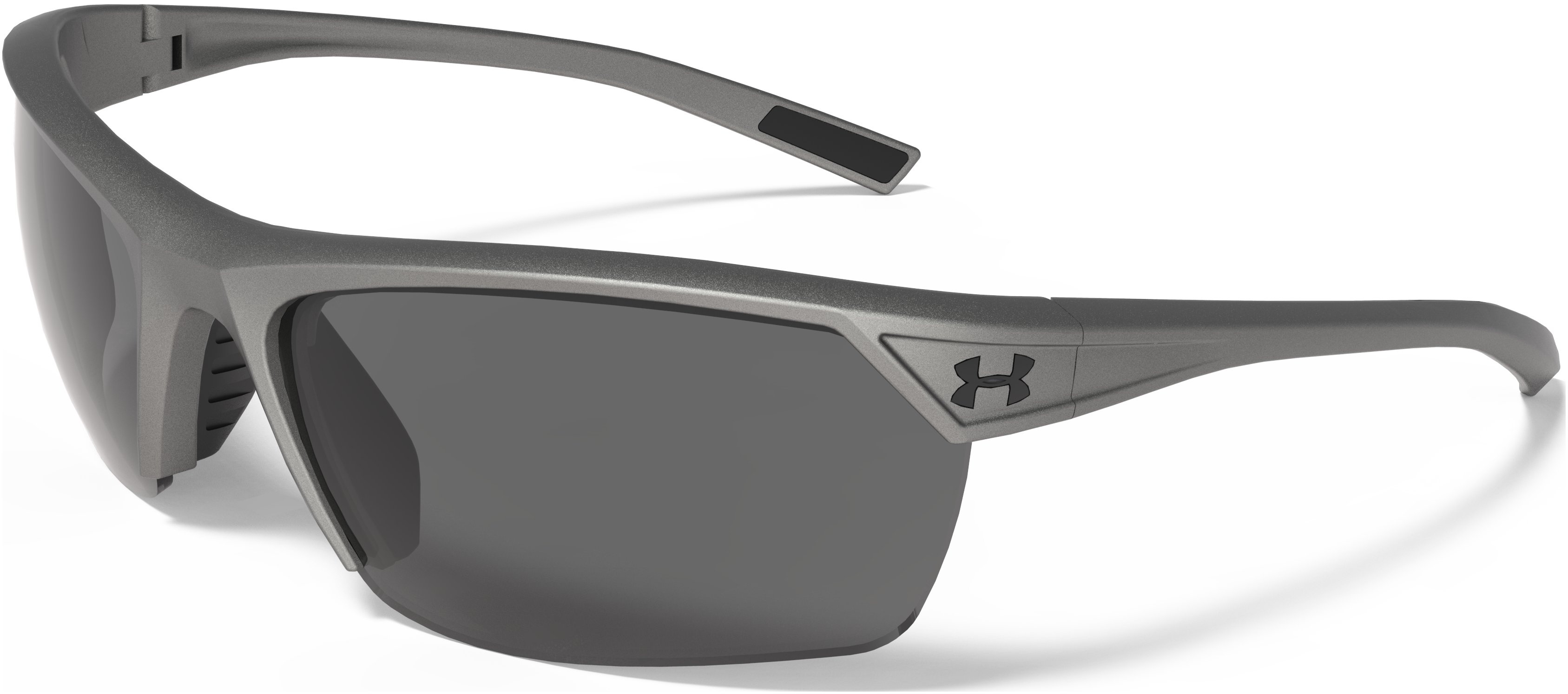 UA Zone 2.0 Storm Polarized Sunglasses, Satin Carbon, undefined
