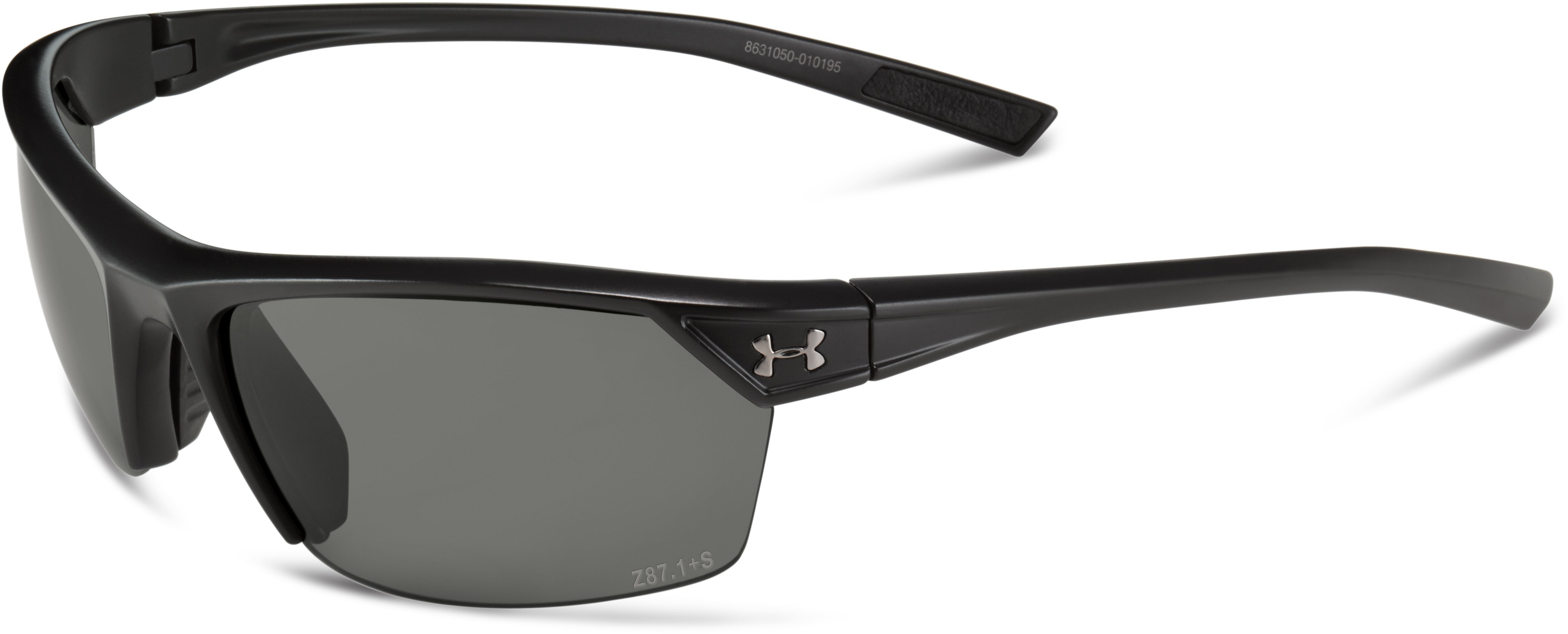 UA Zone 2.0 Interchange WWP Sunglasses, Satin Black