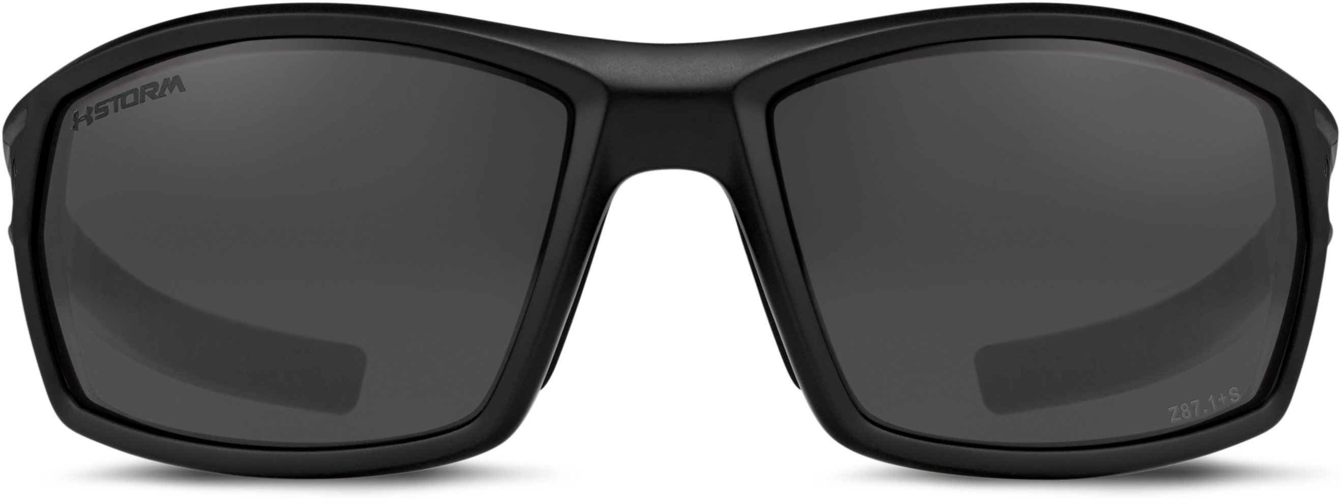 UA Ranger Storm Polarized Sunglasses, Satin Black, undefined