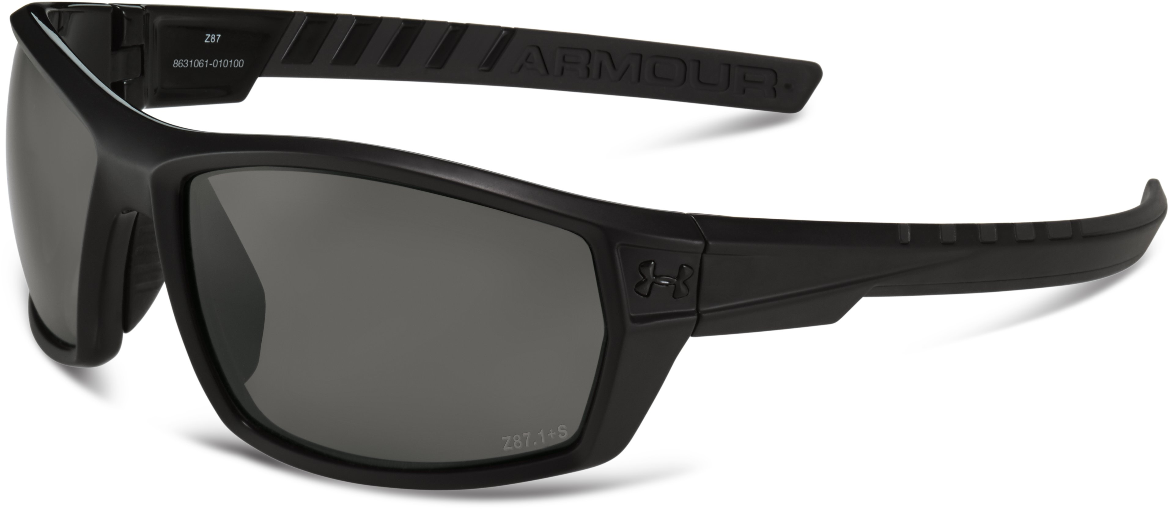UA Ranger WWP Sunglasses, Satin Black, undefined