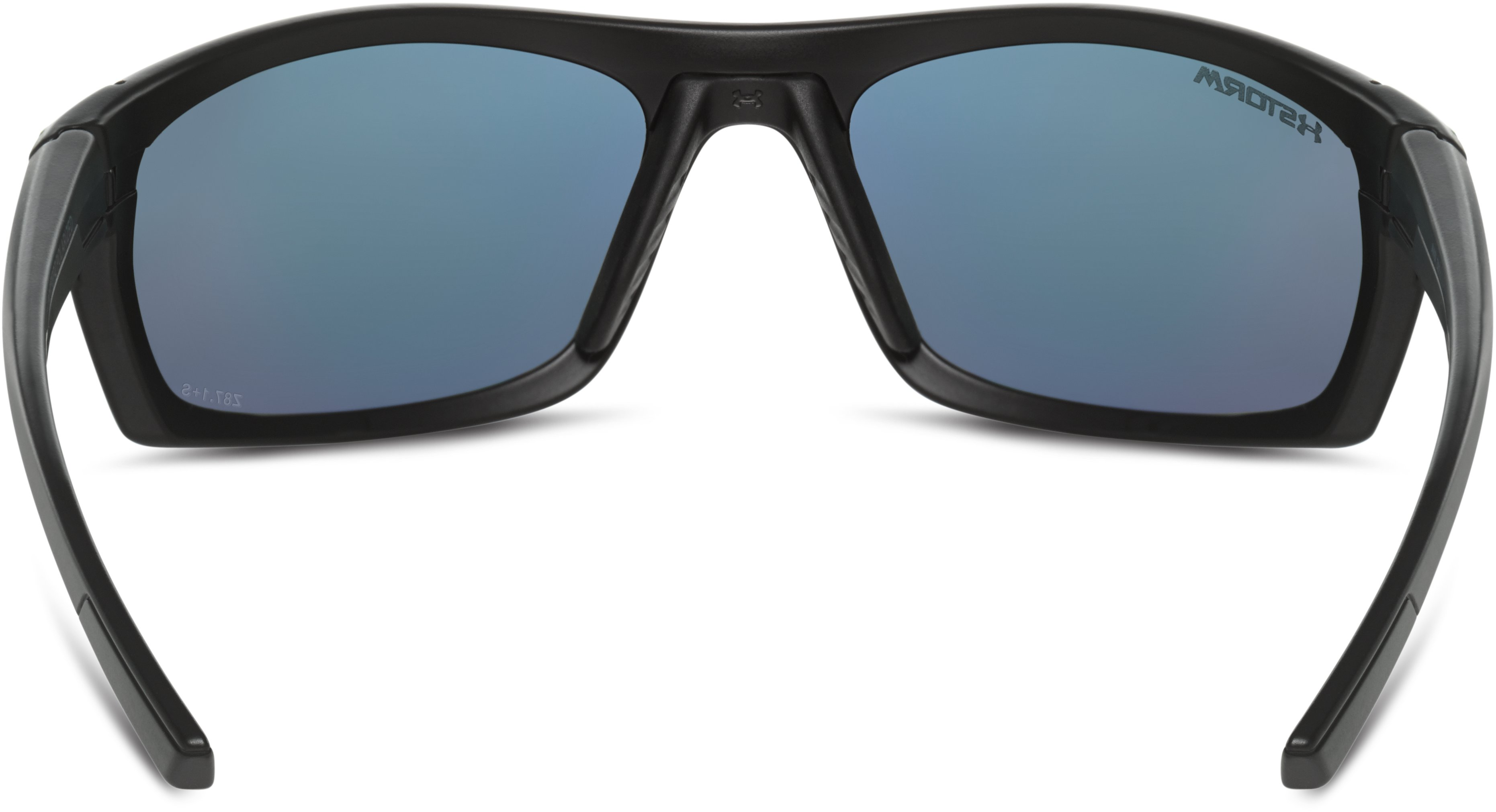 UA Keepz Storm Polarized Sunglasses, Satin Black