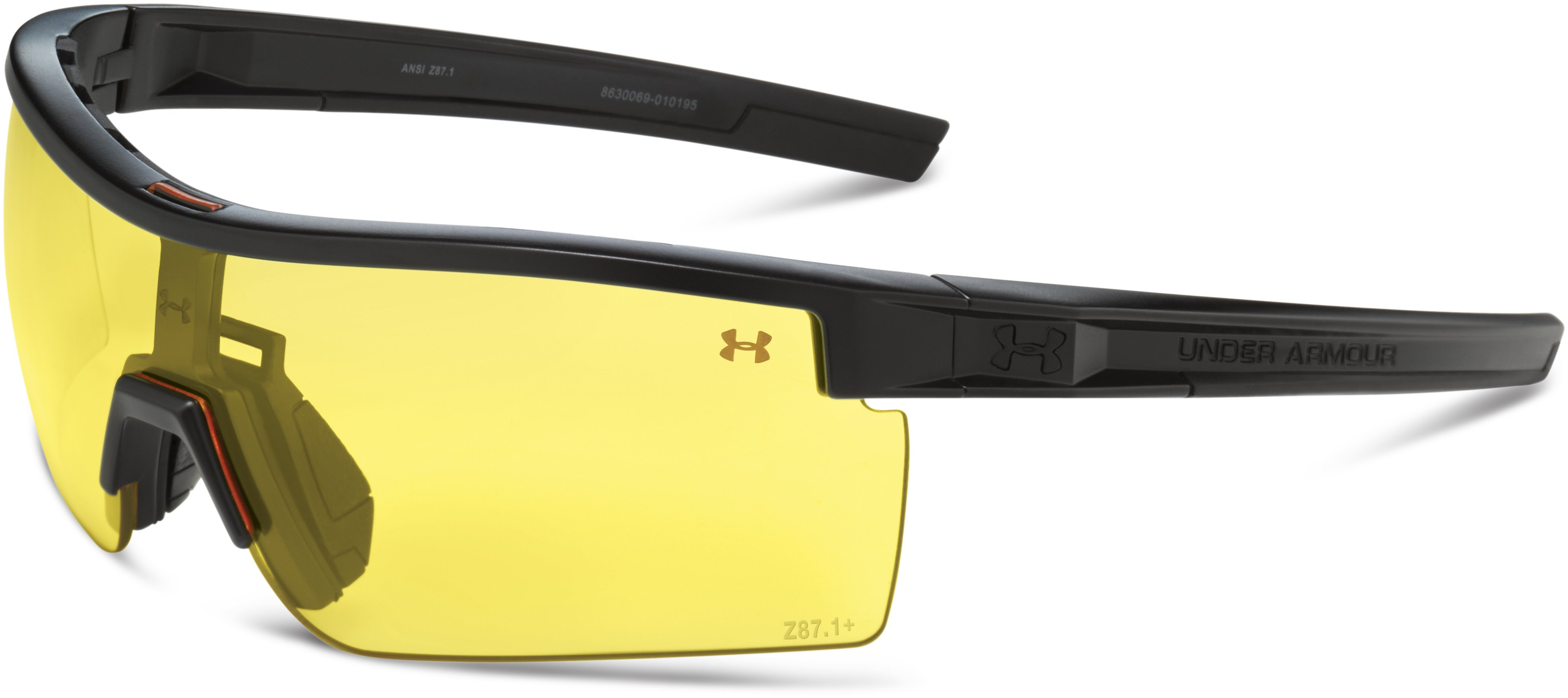 UA Freedom Interchange Tactical Sunglasses, Satin Black