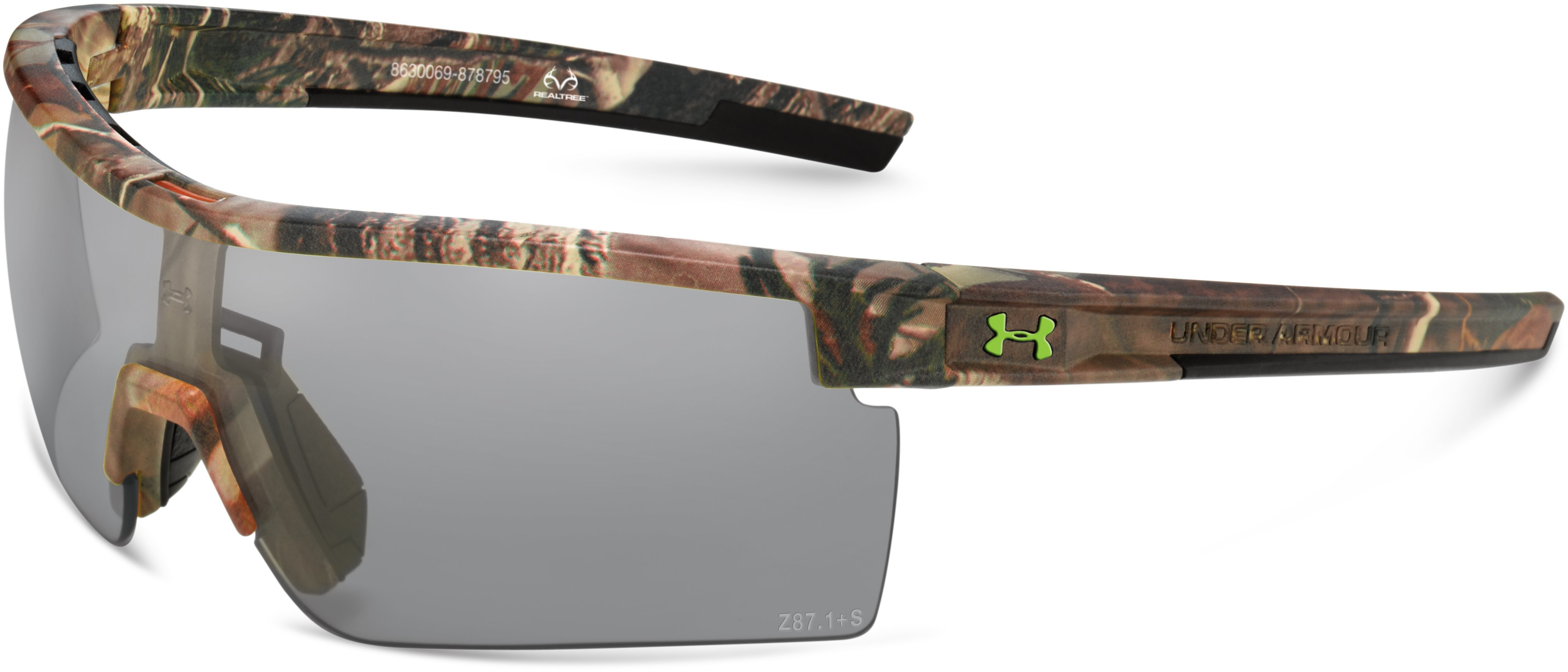 UA Freedom Interchange Camo Tactical Sunglasses, Realtree AP