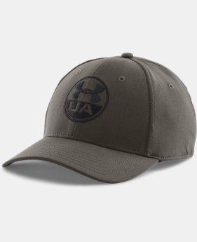 Men's UA Chambray Stretch Fit Cap  1 Color $16.99 to $20.99