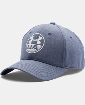 Men's UA Chambray Stretch Fit Cap