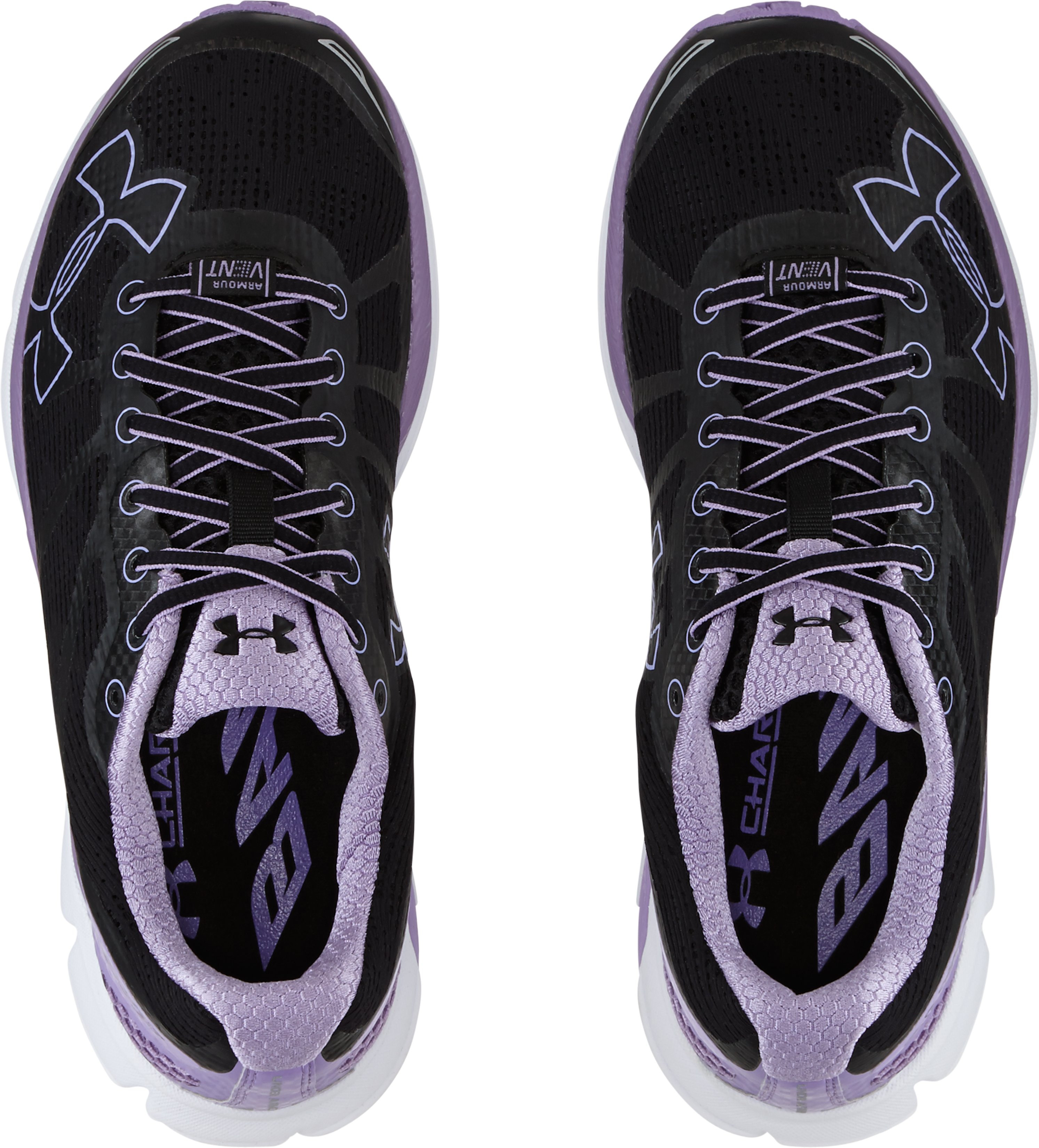 Women's UA Charged Bandit Night Running Shoes, Black