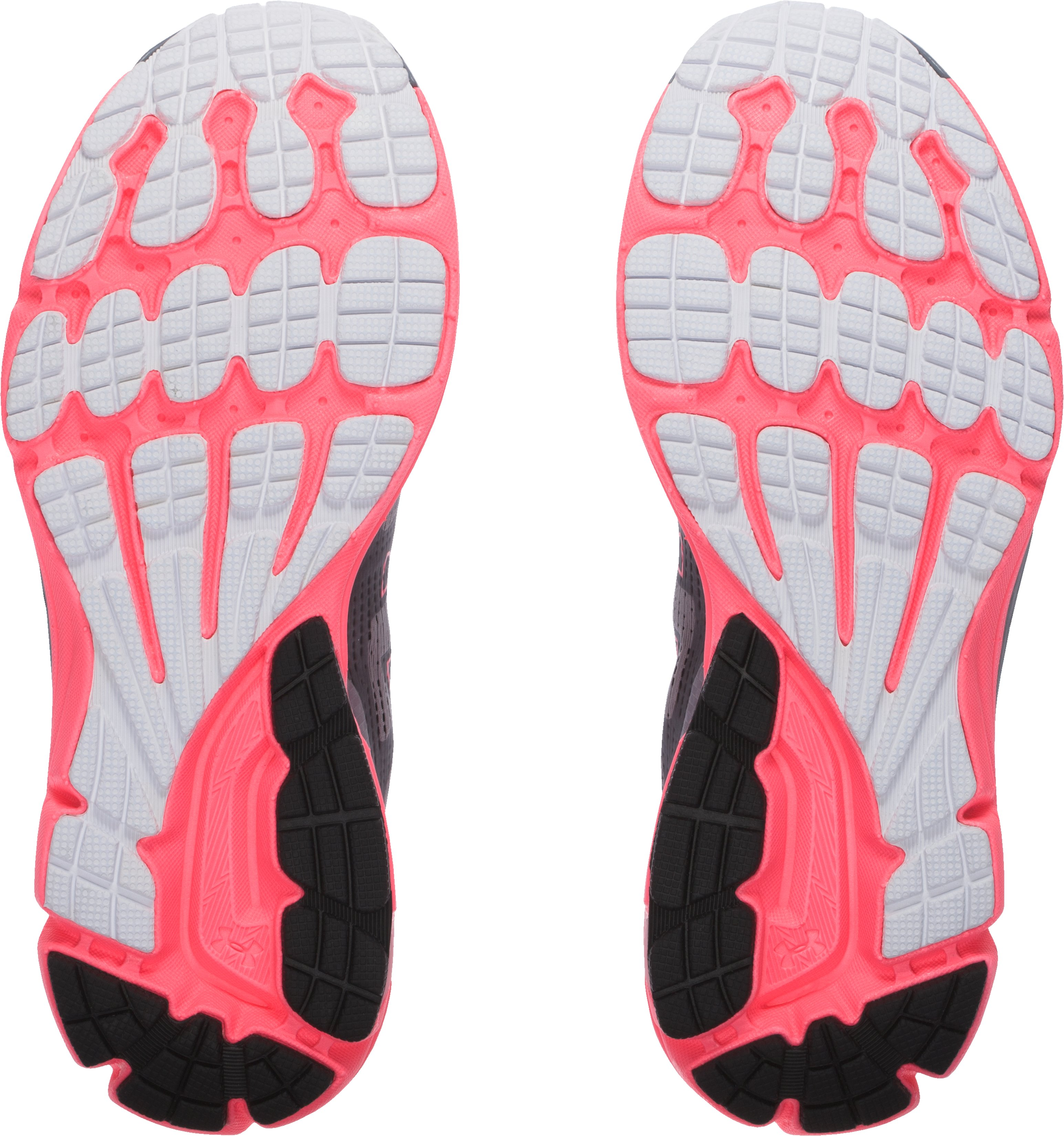 Women's UA Charged Bandit Night Running Shoes, Steel, undefined