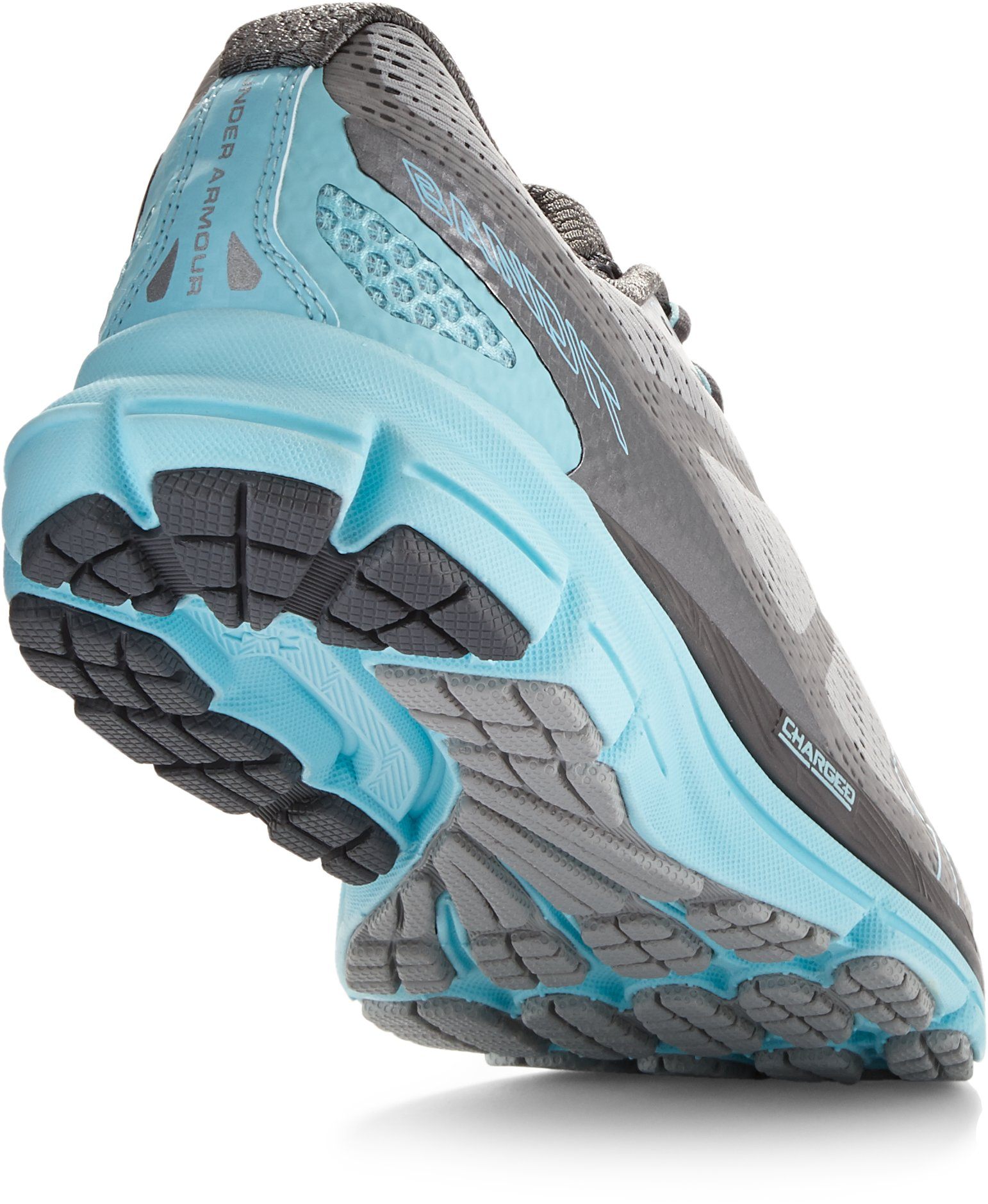 Women's UA Charged Bandit Night Running Shoes, Aluminum