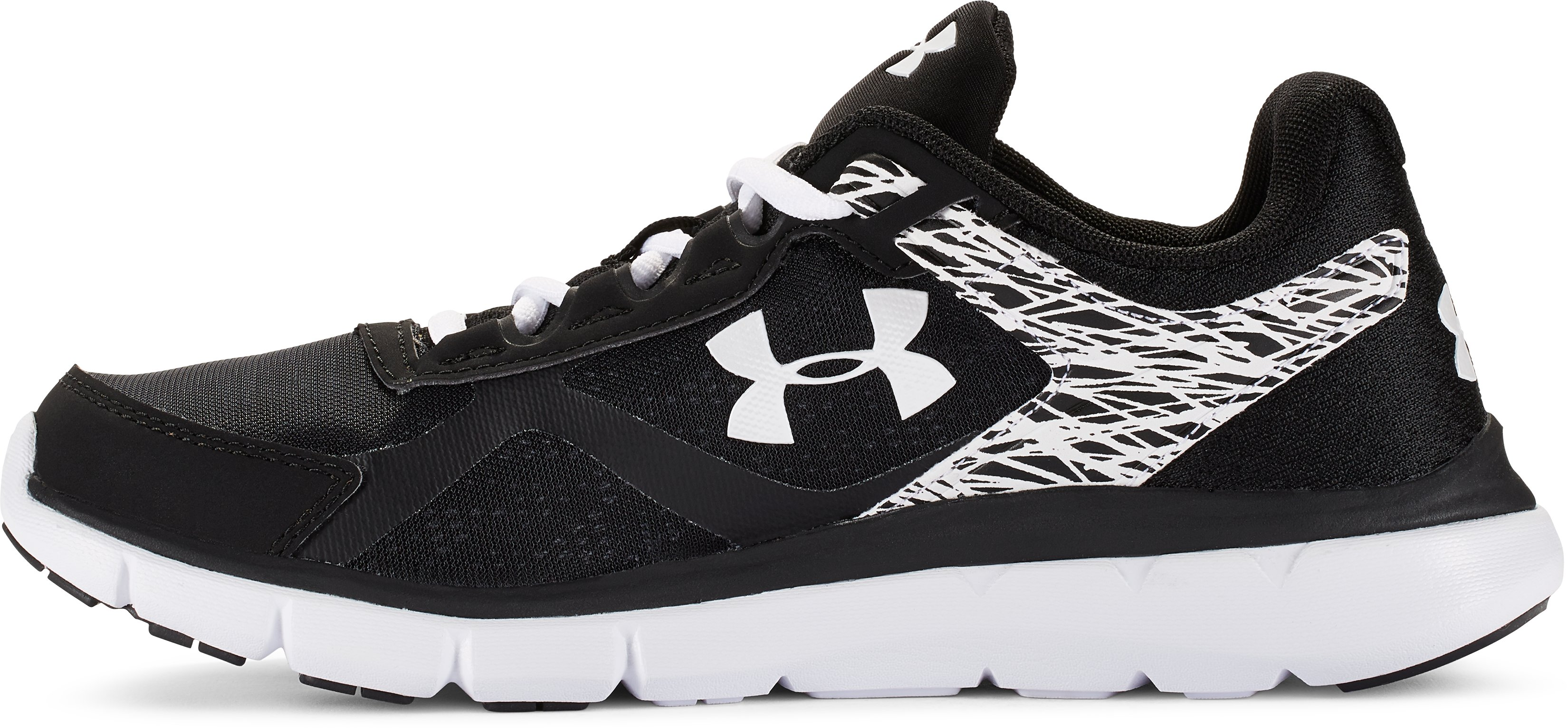 Women's UA Micro G® Velocity Running Shoes, Black ,