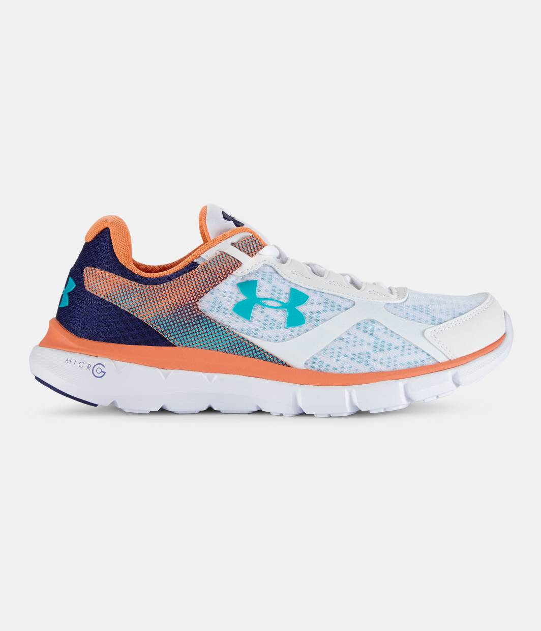 Under Armour Micro G Velocity Run Storm Womens Running Shoes W59t7999