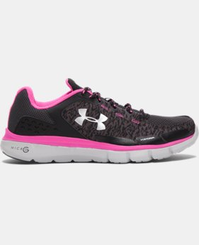 Women's UA Micro G® Velocity Storm Running Shoes