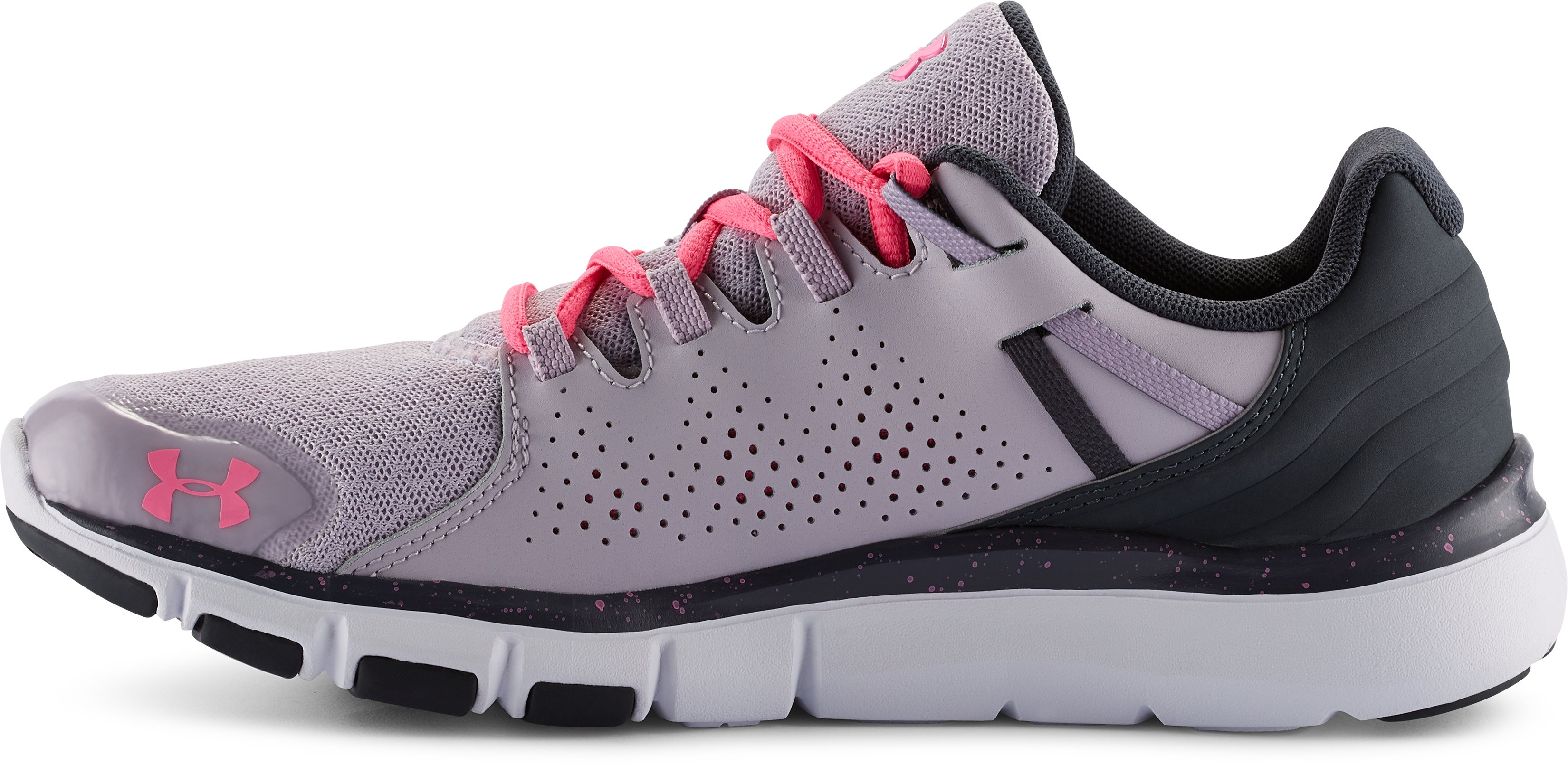 Women's UA Micro G® Limitless Training Shoes, CLOUD GRAY, undefined