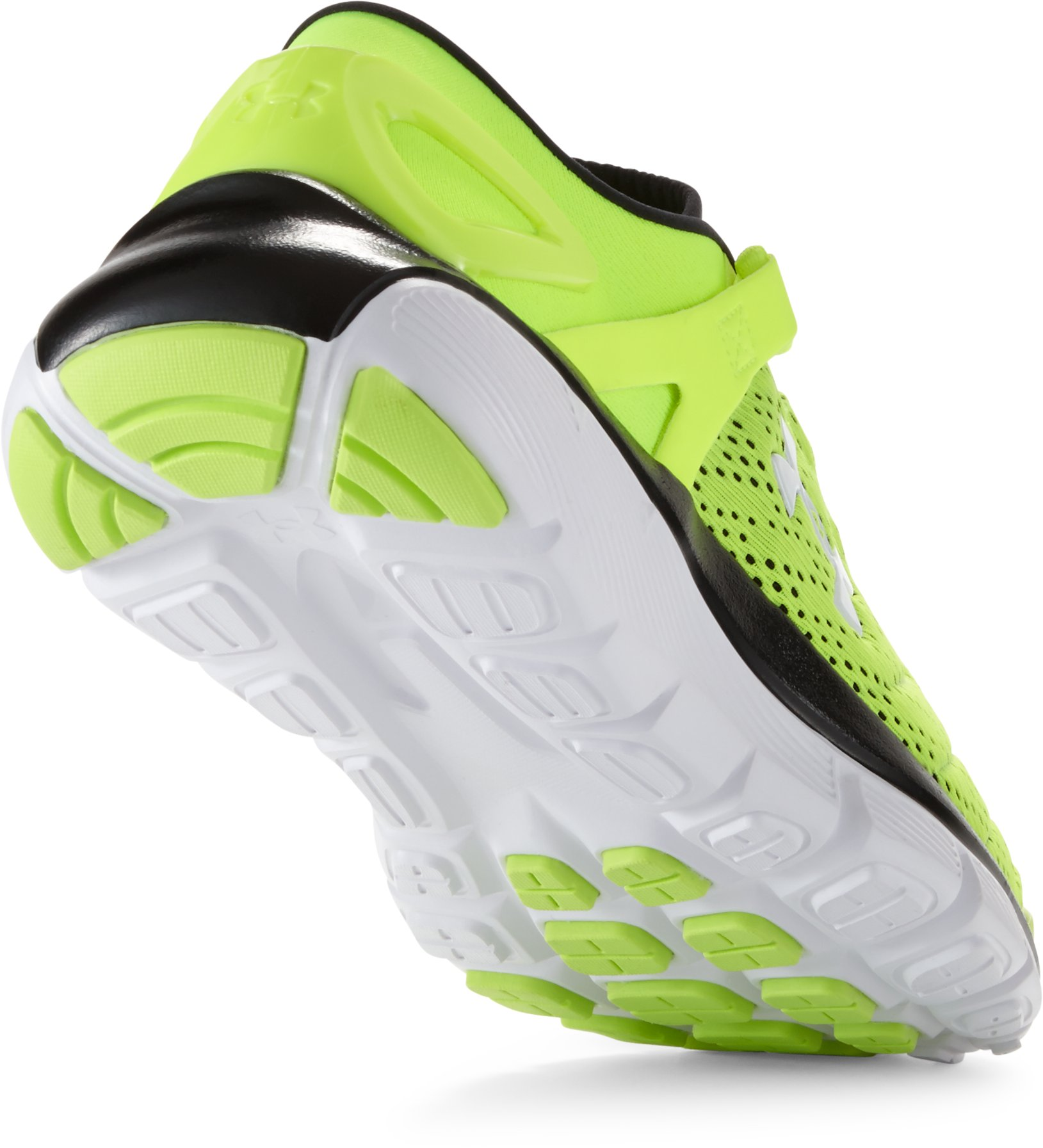 Boys' Grade School SpeedForm® Fortis Running Shoes, High-Vis Yellow