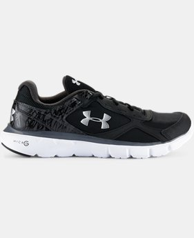 Boys' Grade School UA Micro  G® Velocity Running Shoes    $59.99