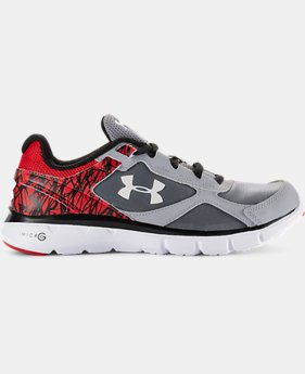 Boys' Grade School UA Micro G® Velocity Running Shoes LIMITED TIME: FREE SHIPPING 1 Color $59.99