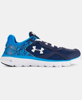 Boys' Grade School UA Micro G® Velocity Running Shoes  1 Color $48.99