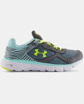 Girls' Grade School UA Micro G® Velocity Running Shoes  3 Colors $48.99