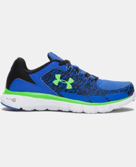 Boys' Grade School UA Micro G® Velocity Grit Running Shoes