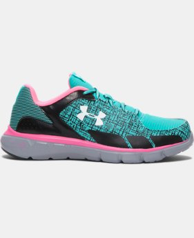 Girls' Grade School UA Micro G® Velocity Grit Running Shoes   $48.99