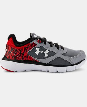 Boys' Pre-School UA Velocity Running Shoes   $41.99