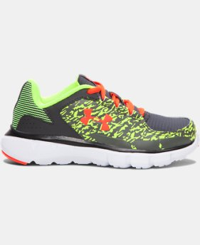 Boys' Pre-School UA Velocity Grit Running Shoes