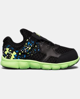 Boys' Infant UA Thrill Running Shoes  4  Colors $21.59 to $26.99