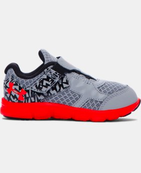 Boys' Infant UA Thrill Running Shoes  1 Color $33.74