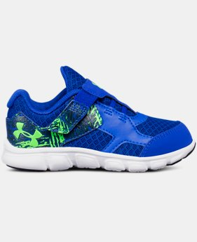 Boys' Infant UA Thrill Running Shoes  3  Colors Available $26.99