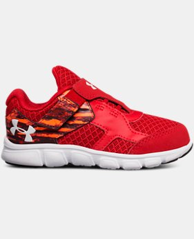 Boys' Infant UA Thrill Running Shoes  1  Color Available $44.99
