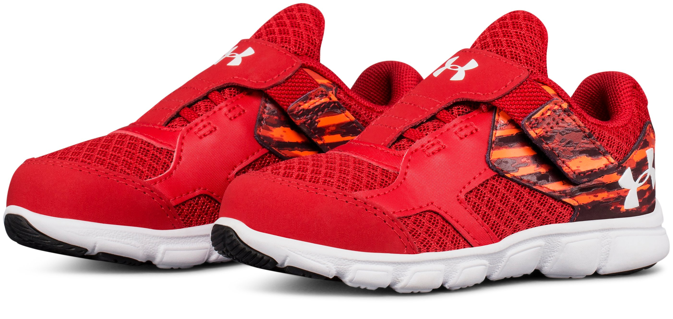 Boys' Infant UA Thrill Running Shoes, Red,