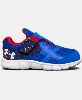 Boys' Infant UA Thrill Running Shoes   $35.99
