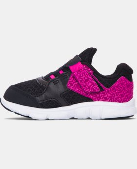 Girls' Infant UA Thrill AC Running Shoes   $33.99