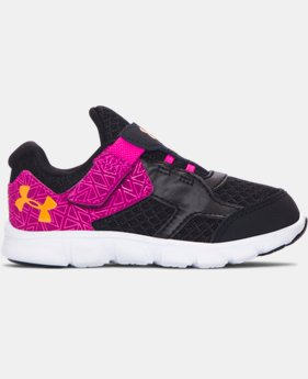 Girls' Infant UA Thrill AC Running Shoes   $35.99