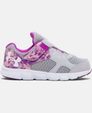 Girls' Infant UA Thrill AC Running Shoes LIMITED TIME: FREE SHIPPING  $44.99