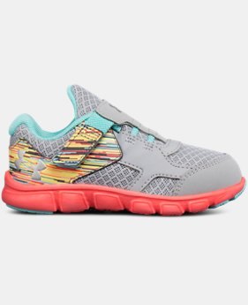 Girls' Infant UA Thrill AC Running Shoes   $44.99