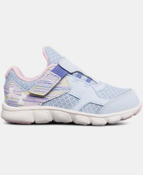 Best Seller Girls' Infant UA Thrill AC Running Shoes  3 Colors $35.99